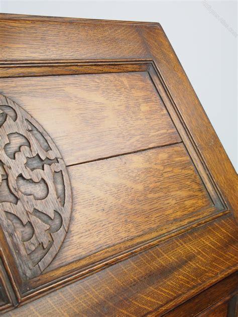 hallway bureau vintage oak bureau bureau writing desk antiques atlas