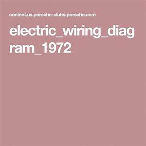 Electric Wiring Diagram 1972 In 2020