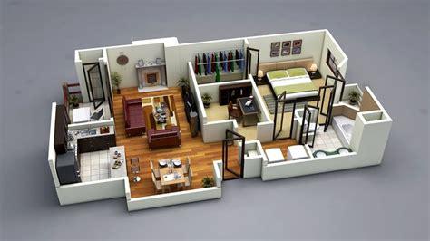photo realistic  floor plan ds max vray wwwdfloorplanzcom    bedroom house