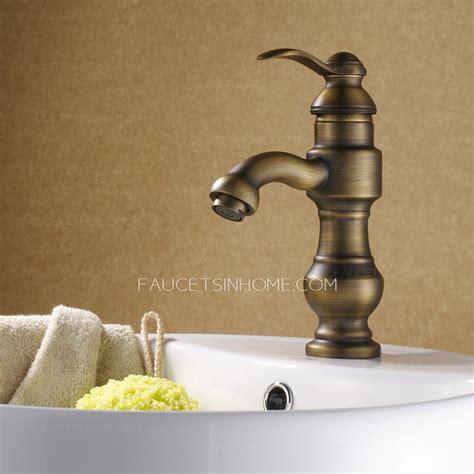 antique kitchen sink faucets chic antique bronze european style bathroom faucets single 4103