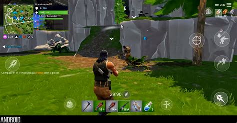 heres  fortnite compares  android ios  switch