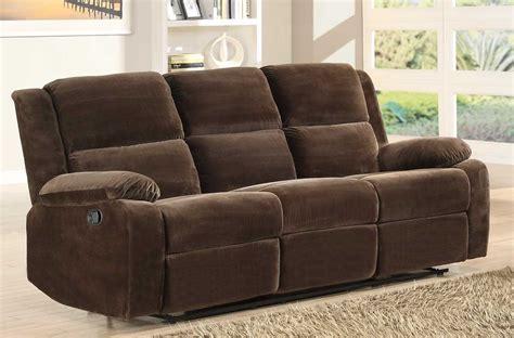 microfiber reclining sofa homelegance snyder reclining sofa set coffee microfiber
