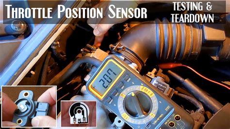 test  throttle position sensor tps youtube
