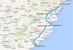 North South Carolina Coast Map