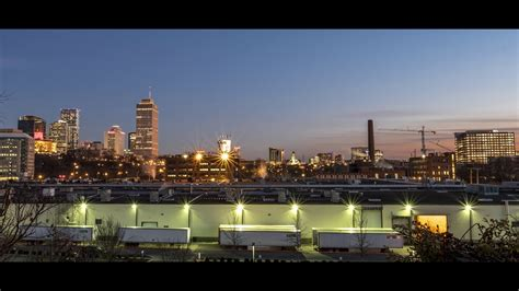 downtown nashville timelapse january  youtube