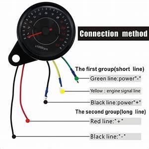 Tenzo Racing Tachometer Wiring Diagram