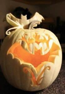 Halloween Pumpkin Carving Bat