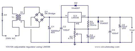 Adjustable Powersupply Using Power Supply