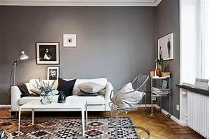 Decoration Mur Interieur Salon : 30 inspirations d co pour votre salon blog d co mydecolab ~ Teatrodelosmanantiales.com Idées de Décoration
