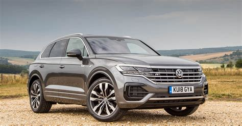 vw touareg review  tech  amazing