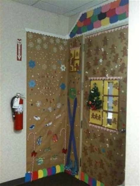 christmas decorating ideas  office door thriftyfun