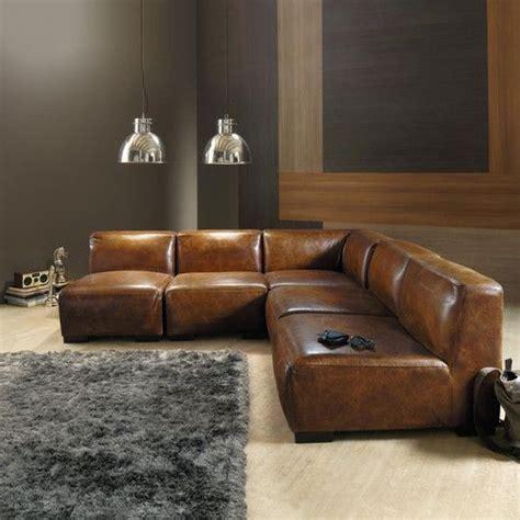 canape cuir rustique les 25 meilleures idées de la catégorie canapés en cuir