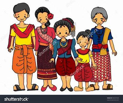 Traditional Cambodian Costume Clipart Clipground Shutterstock