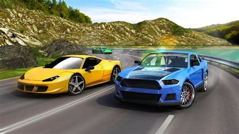 Want to play car games? Real Turbo Car Racing 3D - Android Racing Game Video ...