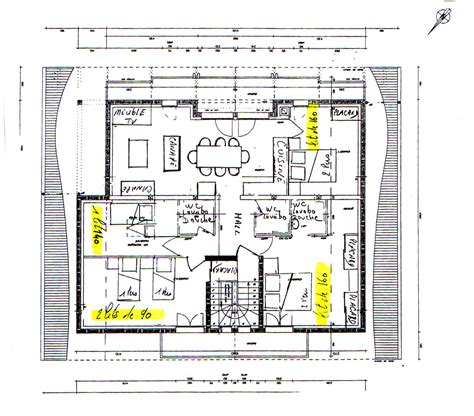 plan de chambre froide gîte rural chalet l 39 ortaz appartement 7 personnes