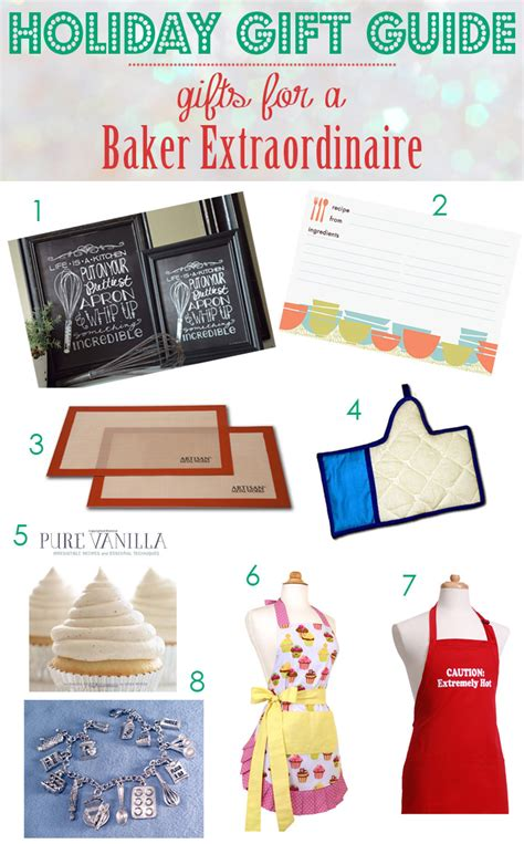 holiday gift guide gifts for the baker blog noshon it
