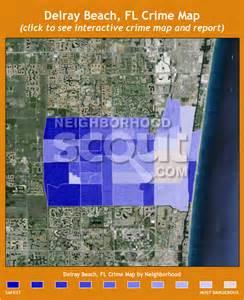 Map of Delray Beach FL Crime
