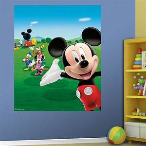 mickey mouse clubhouse mural mickey mouse wall decals With mickey mouse clubhouse wall decals