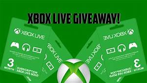 XBOX LIVE GOLD GIVEAWAY 2017 1000 SUBS XBOX LIVE CODE