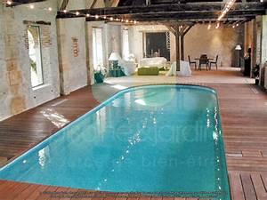 piscine bois avec escalier interieur myqtocom With exemple de jardin de maison 18 escaliers kaori constructions maison ossature bois