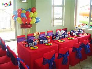 Superman themed party cape town - The Party B Kids party
