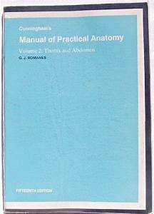 Cunningham U0026 39 S Manual Practical Anatomy