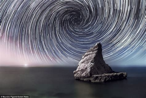 That Streaking Amazing Star Trails The Milky Way