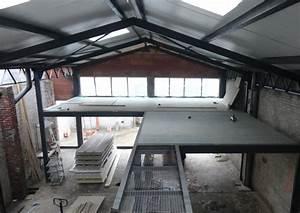 Renovation Hangar En Habitation : le loft de jeff b thune ~ Nature-et-papiers.com Idées de Décoration