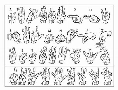 Language Sign Cub Scout Printable Scouts Chart