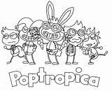 Poptropica Coloring Villains Printable Positive Deviantart Graphics Pages Username Coloringme Cum sketch template