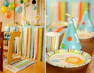 Deko Geburtstag 1 : der erste geburtstag unseres sohnes mit zooparty motto 2 teil baby belly party blog ~ Markanthonyermac.com Haus und Dekorationen