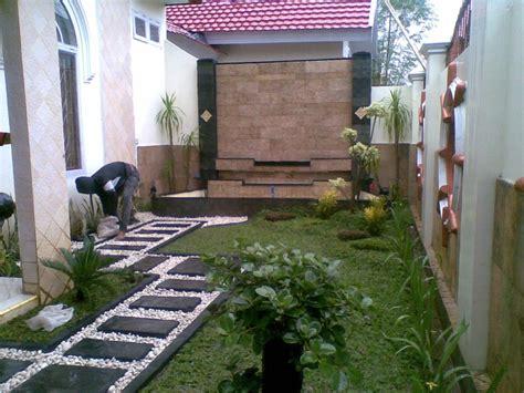 desain taman minimalis  rumah  eksotis