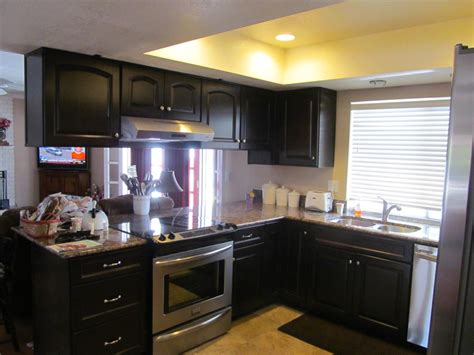 And Black Kitchen Ideas by Black Kitchen Cabinets