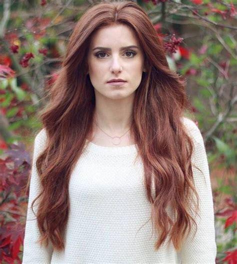 Auburn And Hairstyles by 50 Glamorous Auburn Hair Color Ideas