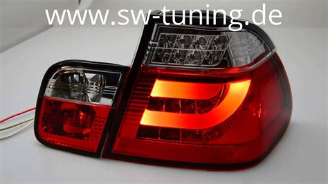 bmw e46 led rückleuchten led r 252 ckleuchten f 252 r e46 bmw 3er lim 98 01 clear 4