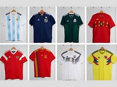 World Cup 2018 kits New designs for Spain, Germany and Russia