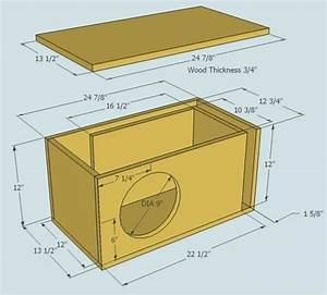 Subwoofer Box Design For 12 Inch Upload 12 Ported Sub Box ...