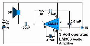 3 Volt Operated Power Amplifier Circuits
