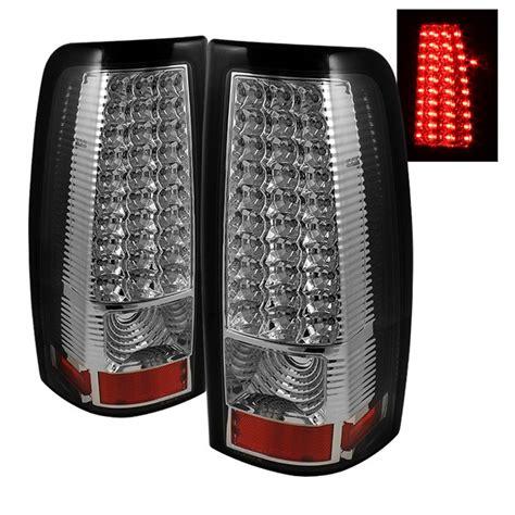 02 silverado tail lights 99 02 chevy silverado 99 03 gmc sierra led chrome tail lights