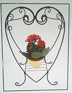 amazoncom double sided heart shaped plant hanger plant