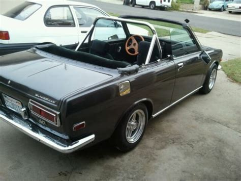 Datsun 510 For Sale California by 1971 Datsun 510 Five Speed Manual For Sale In San Diego