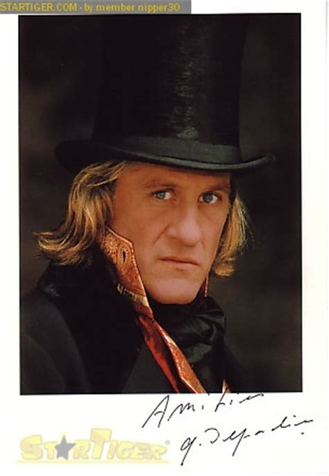 gérard depardieu films gerard depardieu autograph collection entry at startiger