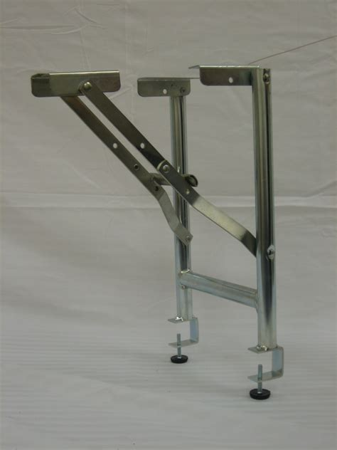 square metal tubing ebco products corp table legs folding legs