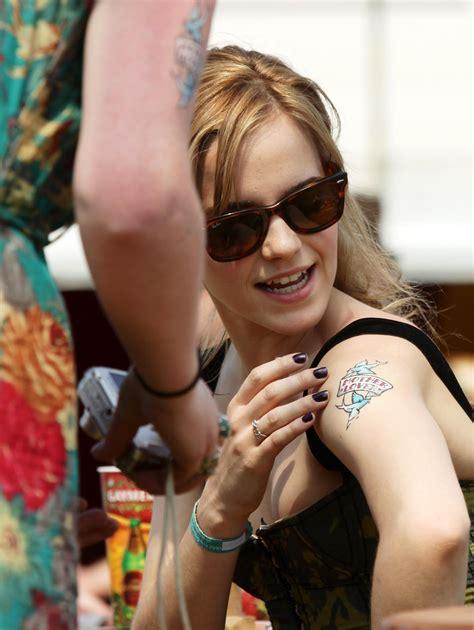 Emma Watson Tattoo Arm