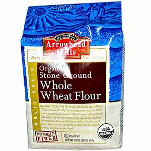 Arrowhead Mills, Organic Stone Ground Whole Wheat Flour ...