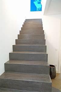 Beton Cire Treppe : beton cire treppe swalif ~ Indierocktalk.com Haus und Dekorationen