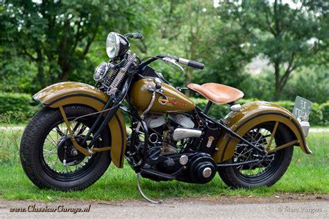 Harley Davidson WLC, 1942 details