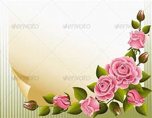 Roses background GraphicRiver