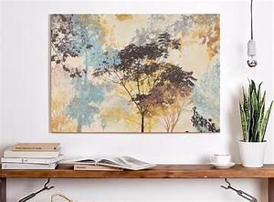 Ikea Bilder Aufhängen : xl leinwand bild 100x70x5 b ume natur gem lde lounge ikea premi r neu mm eur 49 99 picclick de ~ Eleganceandgraceweddings.com Haus und Dekorationen