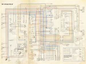 Wiring Diagram 1982 Datsun 720 Pickup